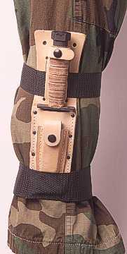 U S A F Survival Knife Leg Strap